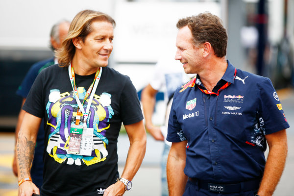 Autodromo Nazionale di Monza, Italy. Friday 01 September 2017. Christian Horner, Team Principal, Red Bull Racing. World Copyright: Andy Hone/LAT Images  ref: Digital Image _ONY6034