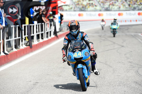 2017 Moto3 Championship - Round 13 Misano, Italy. Saturday 9 September 2017 Aron Canet, Estrella Galicia 0,0 World Copyright: Gold and Goose / LAT Images ref: Digital Image 691114