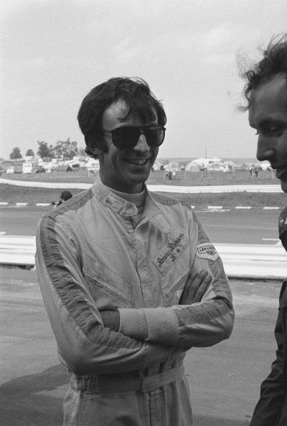 1970 United States Grand Prix. Watkins Glen, New York, USA. 2nd - 4th October 1970. Tim Schenken (De Thomaso 505/38-Ford), retired, wearing Ronnie Peterson's overalls, portrait.  World Copyright: LAT Photographic. Ref:  3348 - 0.