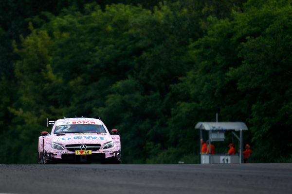 2017 DTM Round 3 Hungaroring, Budapest, Hungary. Friday 16 June 2017. Lucas Auer, Mercedes-AMG Team HWA, Mercedes-AMG C63 DTM World Copyright: Alexander Trienitz/LAT Images ref: Digital Image 2017-DTM-R3-HUN-AT1-0249