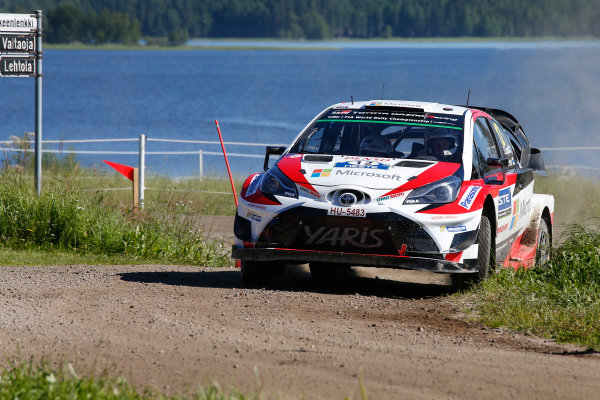 2017 FIA World Rally Championship, Round 09, Rally Finland / July 27 - 30, 2017, Esapekka Lappi, Toyota WRC, Action  Worldwide Copyright: McKlein/LAT
