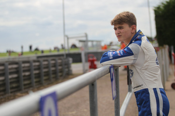 2017 British F4 Championship,  Snetterton. 29th-30th July 2017, Logan Sargeant (USA) Carlin British F4 World copyright. JEP/LAT Photographic