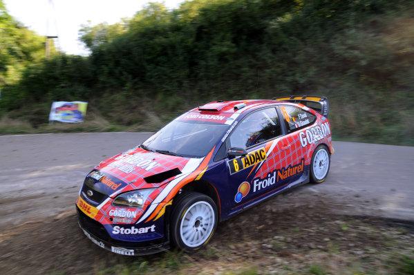 Round 09Rallye Deutschland 19-22/8 2010Francois Duval Ford WRC, ActionWorldwide Copyright: McKlein/LAT
