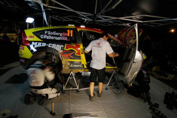 Service Team Petter Solberg, 2010 FIA World Rally Championship Round 10 Rally Japan 9-12/9 2010 Worldwide Copyright: McKlein/LAT