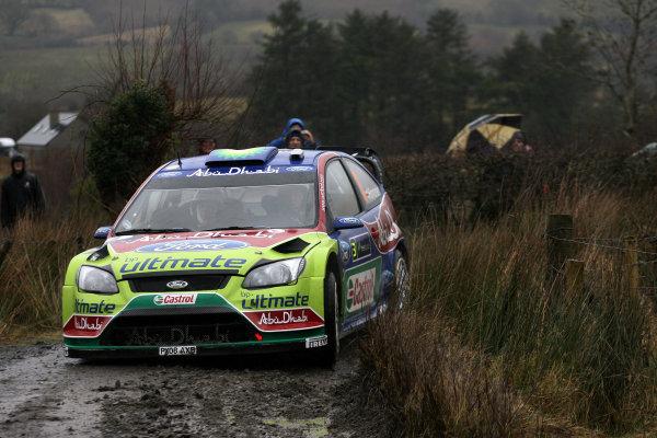 Round 1, Rally Ireland, 29th Jan - 1st Feb 2009, Mikko Hirvonen, Ford, Action,Worldwide Copyright: McKlein/LAT