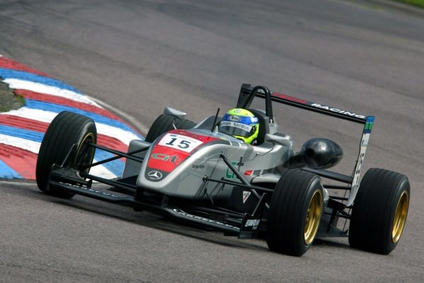 James Walker (GBR) Hitech Racing British Formula Three, Thruxton, England.23rd September 2006DIGITAL IMAGE