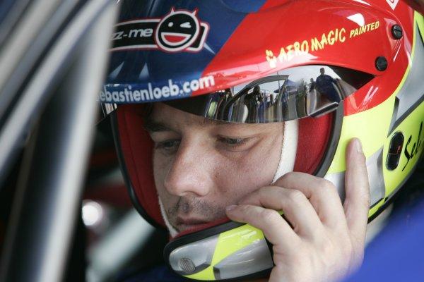 2006 FIA World Rally Championship.Round 7. 18th - 21st May 2006.Rally of Italy, Sardinia.Sebastien Loeb, Citroen, portrait.World Copyright: McKlein/LAT