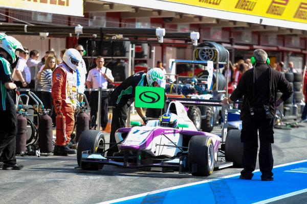 2013 GP3 Series. Round 1.  Circuit de Catalunya, Barcelona, Spain.  12th May Sunday Race 02 Jimmy Eriksson (  Portrait  World Copyright: Malcolm Griffiths/GP3 Media Service.  Ref: Digital ImageC76D5708.JPG