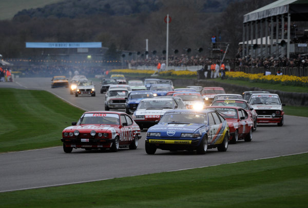 2017 75th Members Meeting Goodwood Estate, West Sussex,England 18th - 19th March 2017 Gerry Marshall Trophy Huff Capri Ward Rover World Copyright : Jeff Bloxham/LAT Images Ref : Digital Image