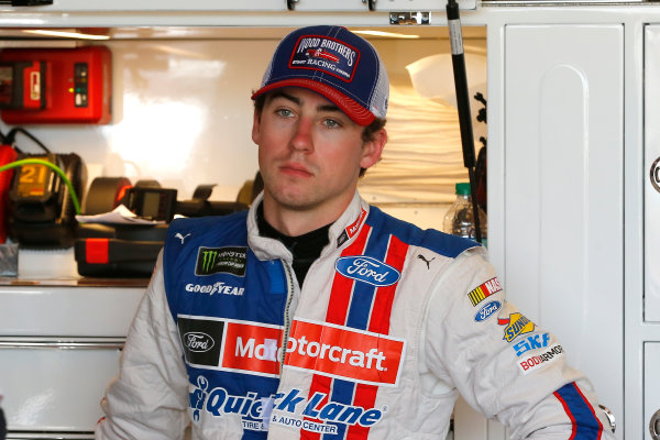 Monster Energy NASCAR Cup Series Toyota Owners 400 Richmond International Raceway, Richmond, VA USA Friday 28 April 2017 Ryan Blaney, Wood Brothers Racing, Motorcraft/Quick Lane Tire & Auto Center Ford Fusion World Copyright: Russell LaBounty LAT Images ref: Digital Image 17RIC1Jrl_0919