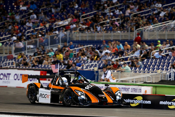 2017 Race of Champions Miami, Florida, USA Sunday 22 January 2017 Kurt Busch, Radaical SR3 RSX World Copyright: Alexander Trienitz/LAT Photographic ref: Digital Image 2017-RoC-MIA-AT2-2882