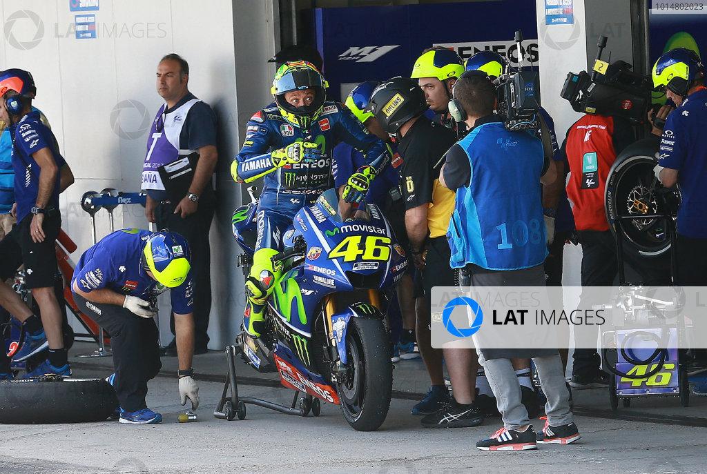 2017 MotoGP Championship - Round 4 Jerez, Spain Saturday 6 May 2017 Valentino Rossi, Yamaha Factory Racing World Copyright: Gold & Goose Photography/LAT Images ref: Digital Image motogp-spa-qualif-1957