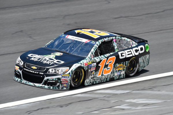 Monster Energy NASCAR Cup Series Coca-Cola 600 Charlotte Motor Speedway, Concord, NC USA Thursday 25 May 2017 Ty Dillon, Germain Racing, GEICO Military Chevrolet SS World Copyright: John K Harrelson LAT Images ref: Digital Image 17CLT2jh_00285