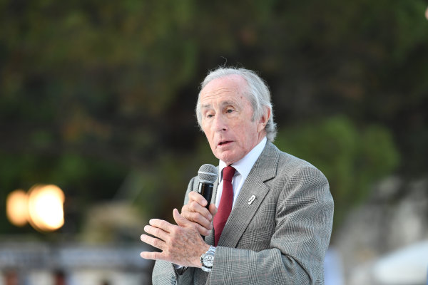 Monte Carlo, Monaco. Friday 26 May 2017. Jackie Stewart (GBR) at the Amber Lounge Fashion Show, Le Meridien Beach Plaza Hotel, Monaco World Copyright: Mark Sutton/Sutton/LAT Images ref: Digital Image dcd1727my358