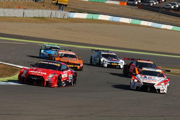 2017 Japanese Super GT Series. Motegi, Japan.  11th - 12th November 2017. Rd 8. SUPER GT & DTM action World Copyright: Yasushi Ishihara/LAT Images ref: Digital Image 2017_SGT_Rd8_027