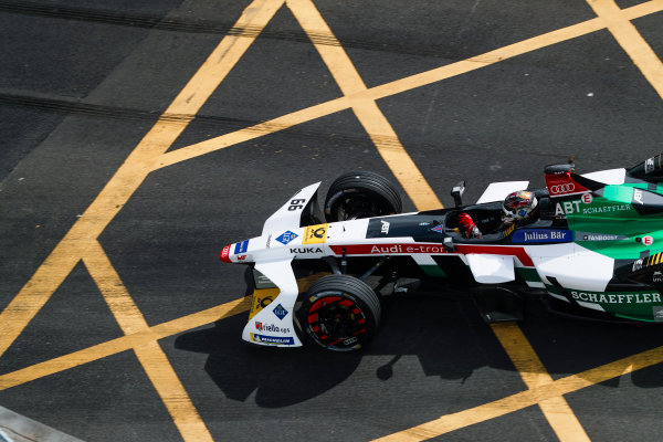 2017/2018 FIA Formula E Championship. Round 1 - Hong Kong, China. Saturday 02 December 2017. Daniel Abt (GER), Audi Sport ABT Schaeffler, Audi e-tron FE04. Photo: Alastair Staley/LAT/Formula E ref: Digital Image _ALS6055