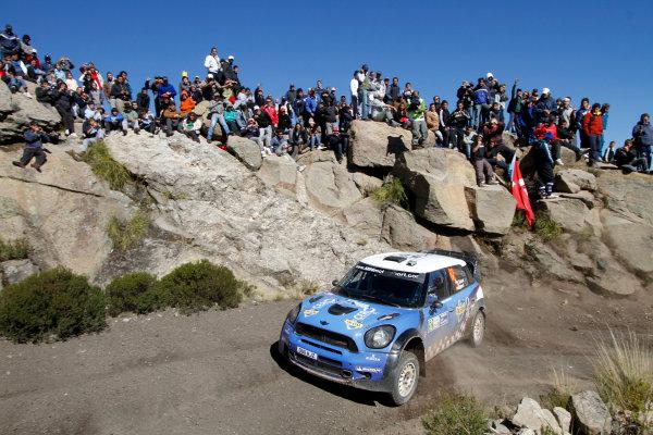 Round 05, Rally Argentina26th - 29th April 2012Elesio Salazar, Mini, actionWorldwide Copyright: McKlein/LAT