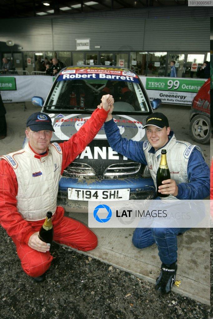 2006 British Rally ChampionshipTrackrod Rally, Yorkshire.7th October 2006Robert Barrett and Dave HammondWorld Copyright - Ebrey/LAT Photographic
