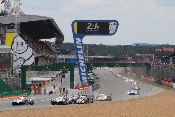 2018 Le Mans 24 Hour start