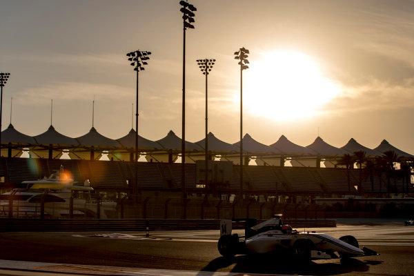 2016 GP3 Series Test 5. Yas Marina Circuit, Abu Dhabi, United Arab Emirates. Wednesday 30 November 2016. Tarun Reddy (IND, Koiranen GP)  Photo: Zak Mauger/GP3 Series Media Service. ref: Digital Image _X0W1928