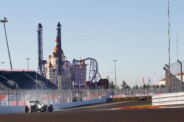 2014 GP3 Series. Round 8.   Sochi Autodrom, Sochi, Russia.  Saturday 11 October 2014. Nelson Mason (CAN, Hilmer Motorsport)  Photo: Sam Bloxham/GP3 Series Media Service. ref: Digital Image _G7C6005