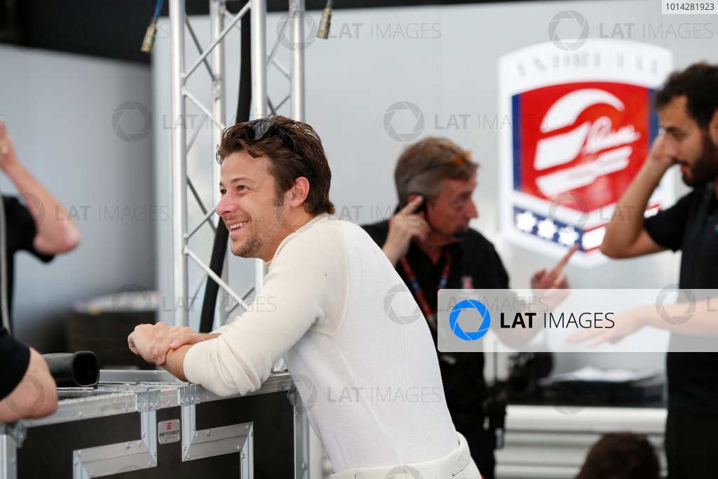 Practice Session 1. Marco Andretti (USA)/Andretti Autosport - Spark-Renault SRT_01E  FIA Formula E World Championship. Buenos Aires, Argentina, South America. Saturday 10 January 2015.  Copyright: Adam Warner / LAT / FE ref: Digital Image _L5R6227