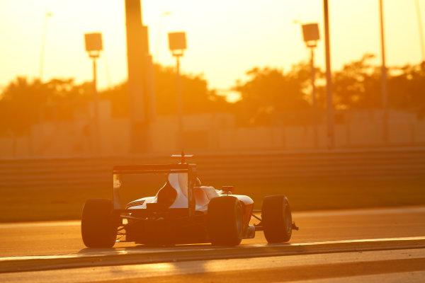 2014 GP3 Series Test 3.   Yas Marina Circuit, Abu Dhabi, United Arab Emirates. Saturday 29 November 2014. Raoul Hyman (RSA, Arden International)  Photo: Sam Bloxham/GP3 Series Media Service. ref: Digital Image _14P2995