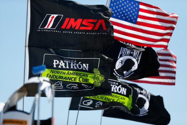 12-15  March, 2014, Sebring, Florida, USA IMSA, Patron, and Tudor Championship flags © 2014, Michael L. Levitt LAT Photo USA