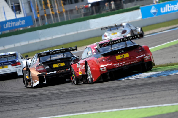 2014 DTM Championship Round 1 - Hockenheim, Germany 3rd - 4th May 2014  Miguel Molina (ESP) Audi Sport Team Abt Sportsline, Audi RS 5 DTM,  World Copyright: XPB Images / LAT Photographic  ref: Digital Image 3083161_HiRes