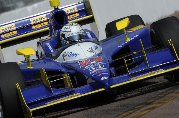 26-28 March 2010, St petersburg, Florida USA#24 Dreyer & Reinbold Racing's Mike Conway.©Dan R. Boyd LAT Photographic USA