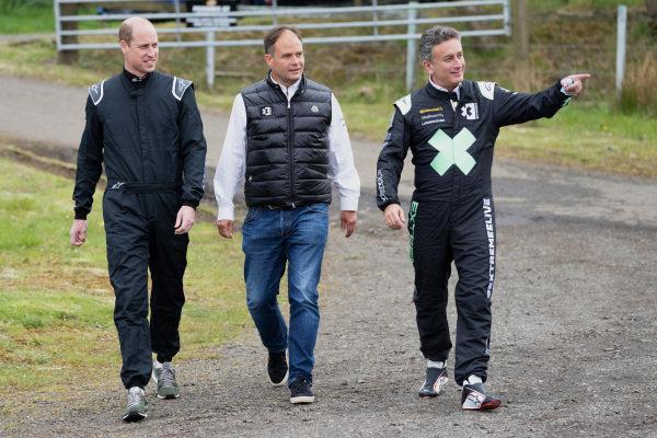 HRH Prince William, Duke of Cambridge, and Alejandro Agag, CEO, Extreme E