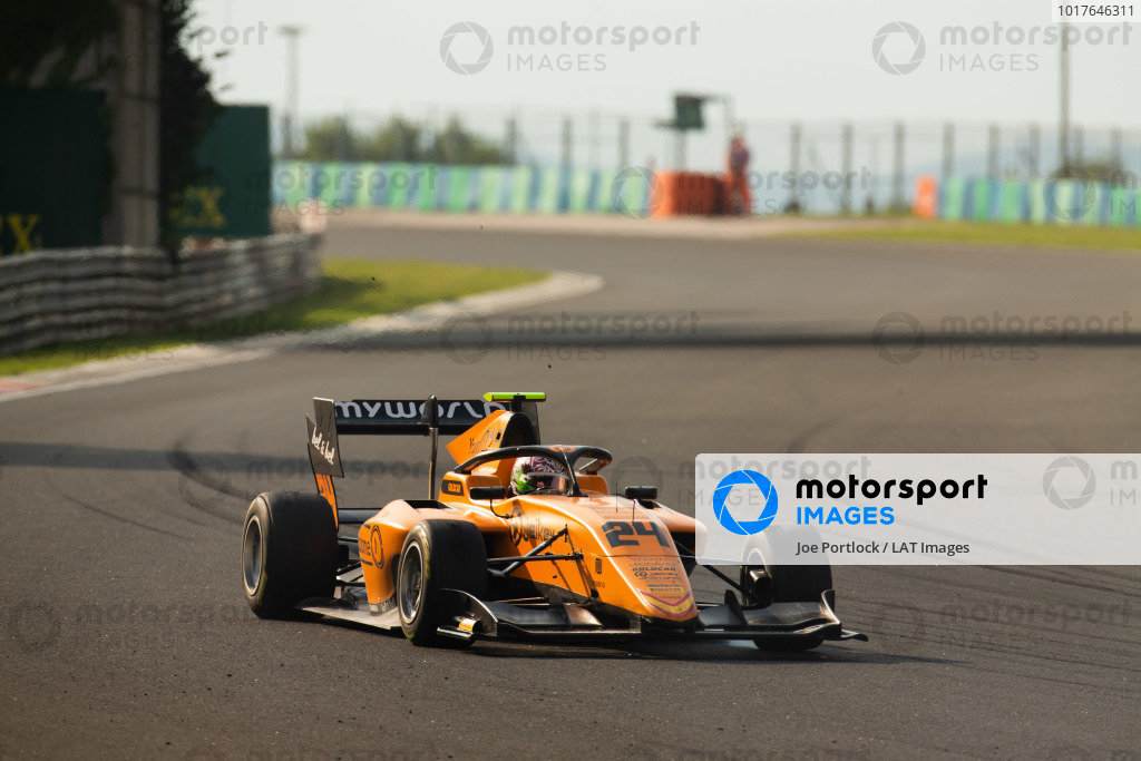HUNGARORING, HUNGARY - AUGUST 03: Alessio Deledda (ITA, Campos Racing) during the Hungaroring at Hungaroring on August 03, 2019 in Hungaroring, Hungary. (Photo by Joe Portlock / LAT Images / FIA F3 Championship)