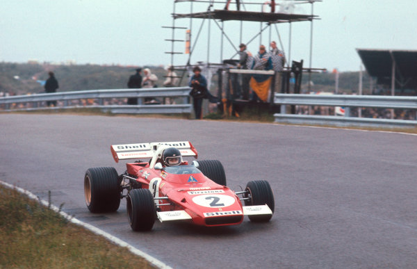 1971 Dutch Grand Prix.Zandvoort, Holland.18-20 June 1971.Jacky Ickx (Ferrari 312B2) 1st position.Ref-71 HOL 10.World Copyright - LAT Photographic