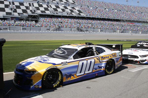 #00: Quin Houff, StarCom Racing, Chevrolet Camaro Mane 'n Tail