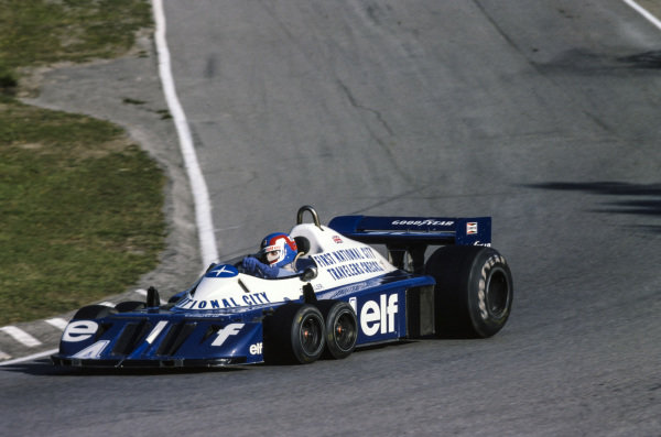 Patrick Depailler, Tyrrell P34 Ford, 2nd position.