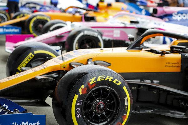 Car of Carlos Sainz Jr., McLaren MCL34