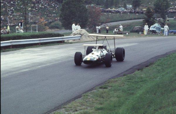 1968 Canadian Grand Prix.Mont-Tremblant, (St. Jovite), Quebec, Canada.20-22 September 1968.Jochen Rindt (Brabham BT26 Repco).Ref-68 CAN 38.World Copyright - LAT Photographic