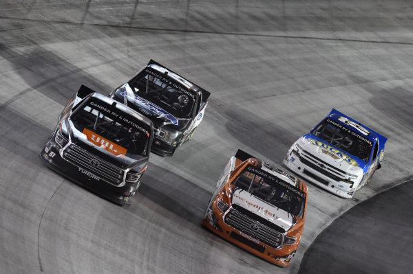 #51: Chandler Smith, Kyle Busch Motorsports, Toyota Tundra JBL, #19: Derek Kraus, McAnally Hilgemann Racing, Toyota Tundra Incredible Bank