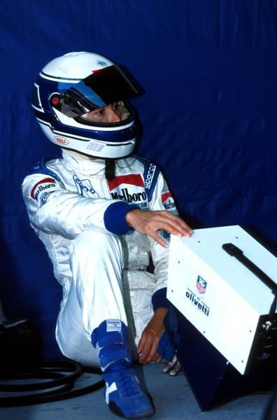 Giovanna Amati - the last woman who raced in F1 Brazilian Grand Prix, Interlagos, 5 April 1992