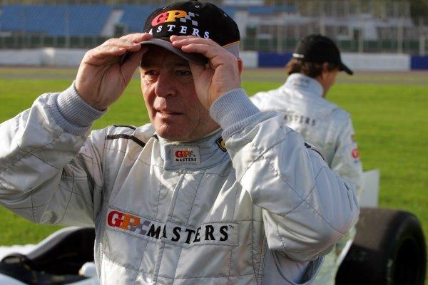 Derek Warwick (GBR). Grand Prix Masters Testing, Day One, Silverstone, England, 26 October 2005. DIGITAL IMAGE