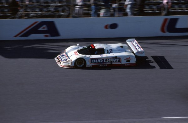Scott Goodyear (CDN) TWR Jaguar XJR-12D, 2nd place.IMSA GTP Championship, Rd1, Daytona 24 Hours, Daytona Beach, Florida, USA. 2 January 1992.BEST IMAGE