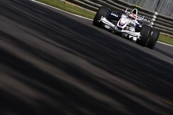 2007 Italian Grand Prix - Friday PracticeAutodromo di Monza, Monza, Italy.7th September 2007.Robert Kubica, BMW Sauber F1 07. Action. World Copyright: Lorenzo Bellanca/LAT Photographicref: Digital Image _64I4905