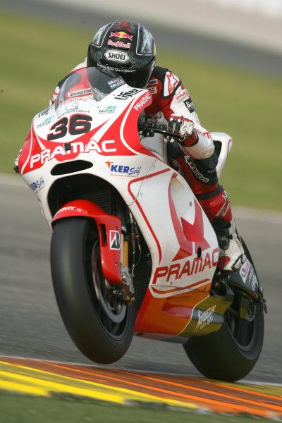 Valencia, Spain. 10th November 2009.Mika Kallio Pramac Ducati.World Copyright: Martin HEath/LAT Photographicref: Digital Image SE5K1908