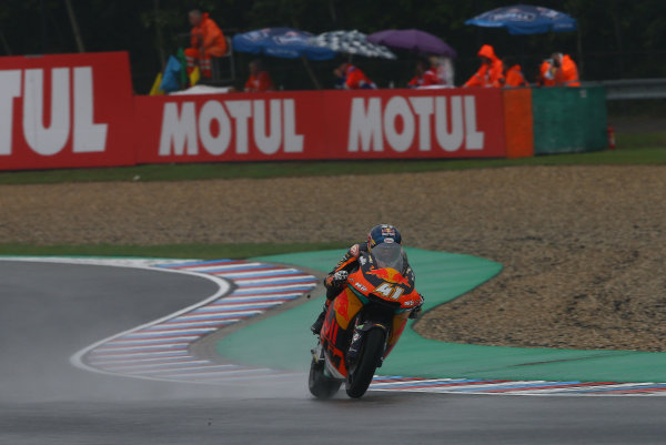 2017 Moto2 Championship - Round 10 Brno, Czech Republic Friday 4 August 2017 Brad Binder, Red Bull KTM Ajo World Copyright: Gold and Goose / LAT Images ref: Digital Image 683663