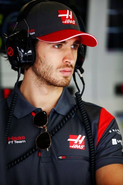 Red Bull Ring, Spielberg, Austria. Saturday 08 July 2017. Antonio Giovinazzi, Haas test driver. World Copyright: Andy Hone/LAT Images ref: Digital Image _ONY0297