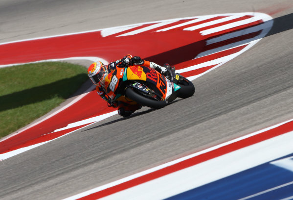 2017 Moto2 Championship - Round 3 Circuit of the Americas, Austin, Texas, USA Friday 21 April 2017 Ricard Cardus, Red Bull KTM Ajo World Copyright: Gold and Goose Photography/LAT Images ref: Digital Image Moto2-500-2159