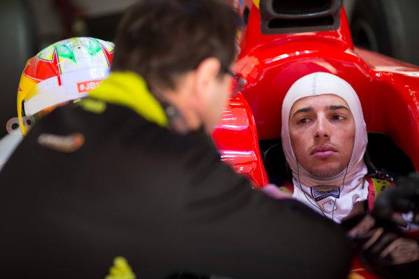 Circuit de Barcelona Catalunya, Barcelona, Spain. Tuesday 14 March 2017. Roberto Merhi (ESP, Campos Racing). Photo: Alastair Staley/FIA Formula 2 ref: Digital Image 585A7978