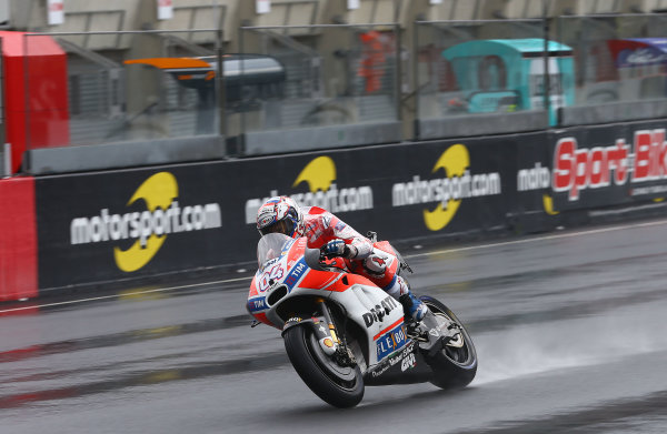 2017 MotoGP Championship - Round 5 Le Mans, France Friday 19 May 2017 Andrea Dovizioso, Ducati Team World Copyright: Gold & Goose Photography/LAT Images ref: Digital Image 670422