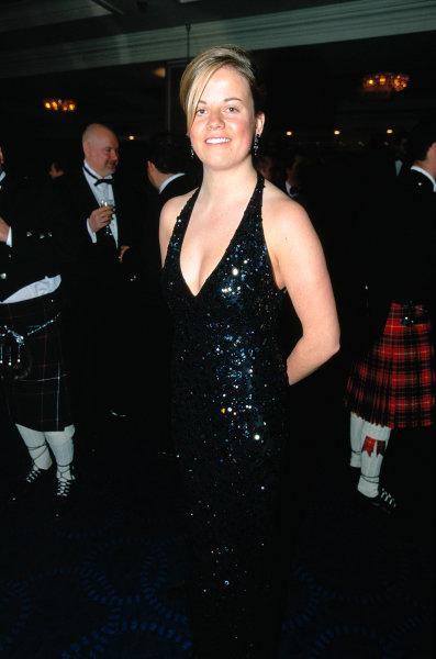 2003 Autosport AwardsGrosvenor Hotel, London, EnglandMcLaren Autosport Young Driver Nominee Susie Stoddart. Portrait.World Copyright: Bellanca/LATref: 35mm Transparency (30mb scan)