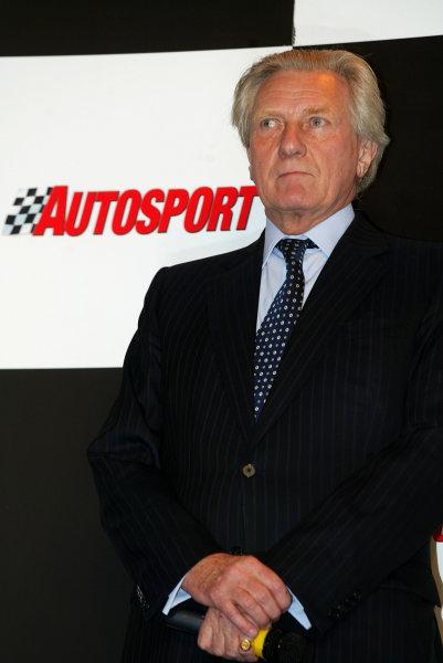 2004 Autosport International.Michael Heseltine.NEC, Birmingham, England.8-11th January 2004.World Copyright: Spinney/LAT Photographic.Ref.:Digital Image Only.
